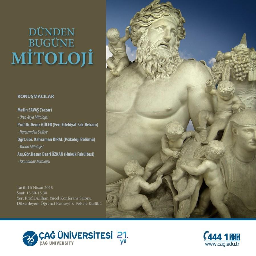 Dünden Bugüne Mitoloji Konferansı