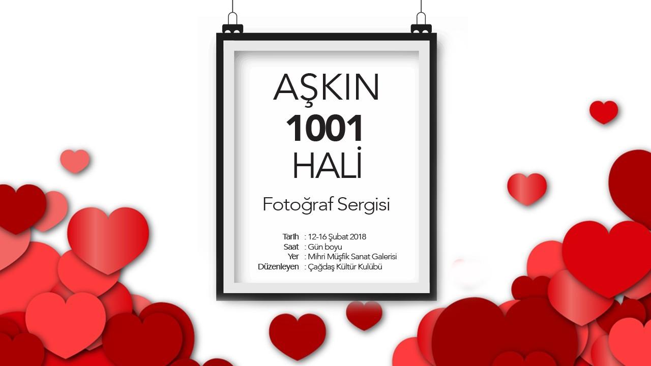 """""""AŞKIN 1001 HALİ"""" Fotoğraf Sergisi"""