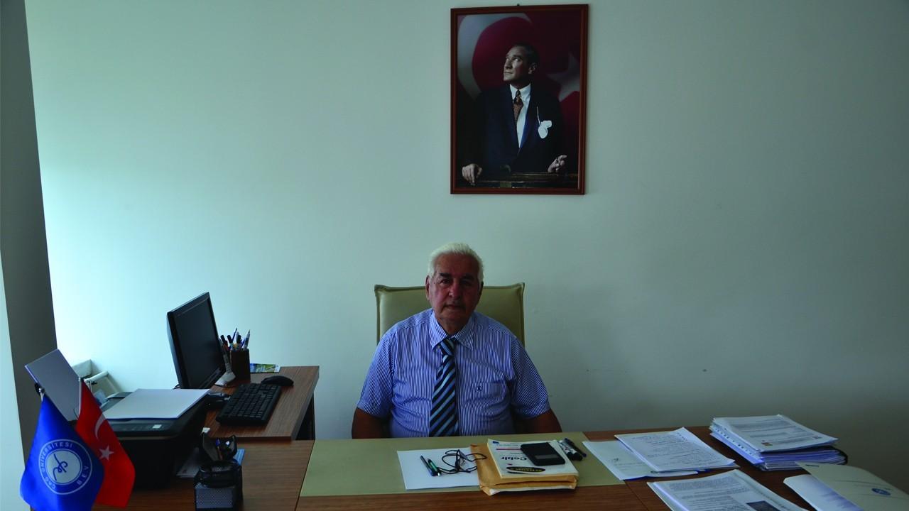 REKTÖR YARDIMCIMIZ PROF.DR.FİKRİ AKDENİZ'E ULUSLARARASI ÖDÜL