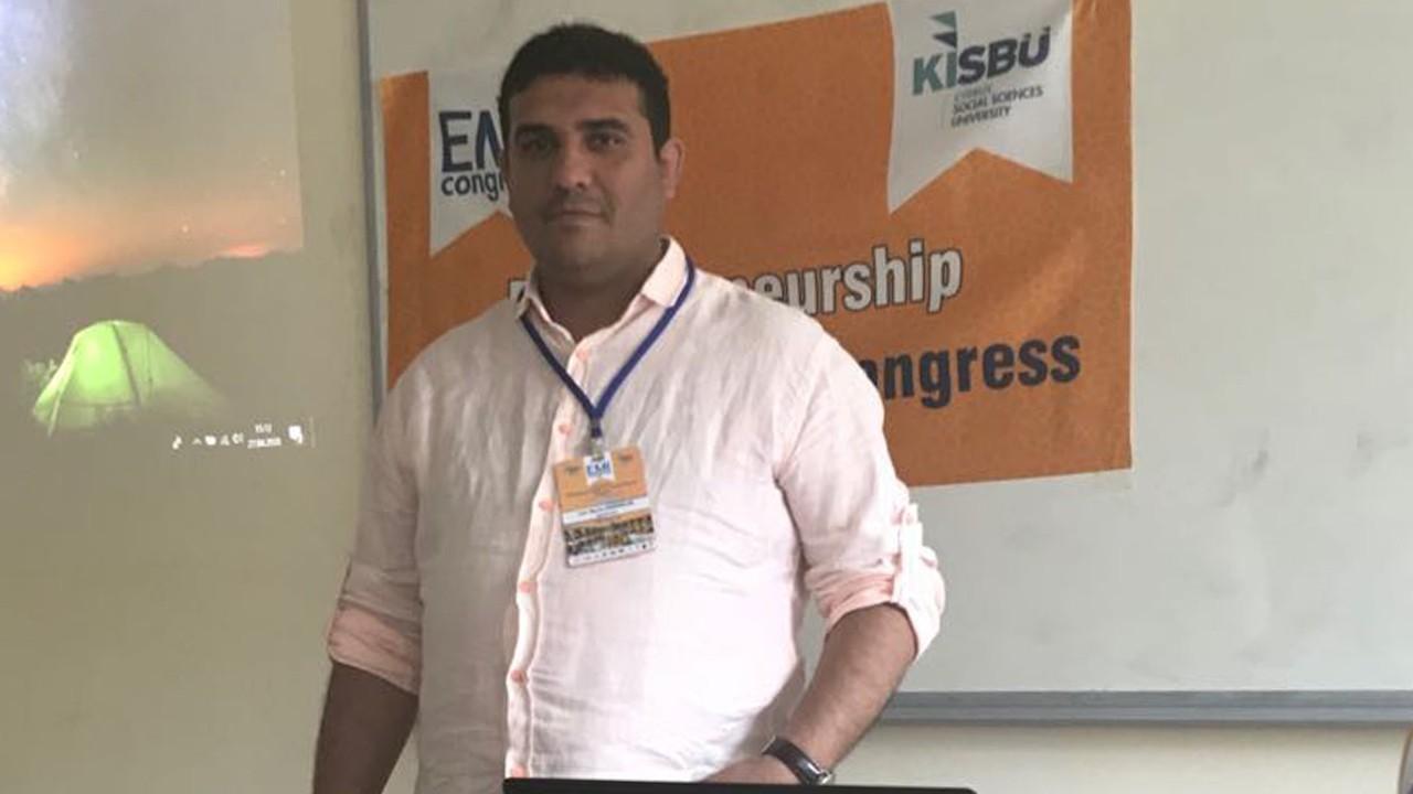 ELT Öğretim Görevlimiz Gürcan Demiroğları'na Uluslararası Ödül