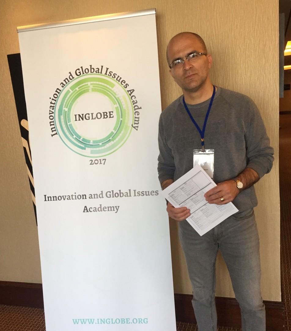 """Dr. Öğr. Üyemiz Şenol Kandemir INGLOBE-Ankara Kongresine """"Finansallaşma Sürecinde Türk Bankacılık Sisteminin Davranış Dinamikleri"""" başlıklı bildirisi ile katıldı."""