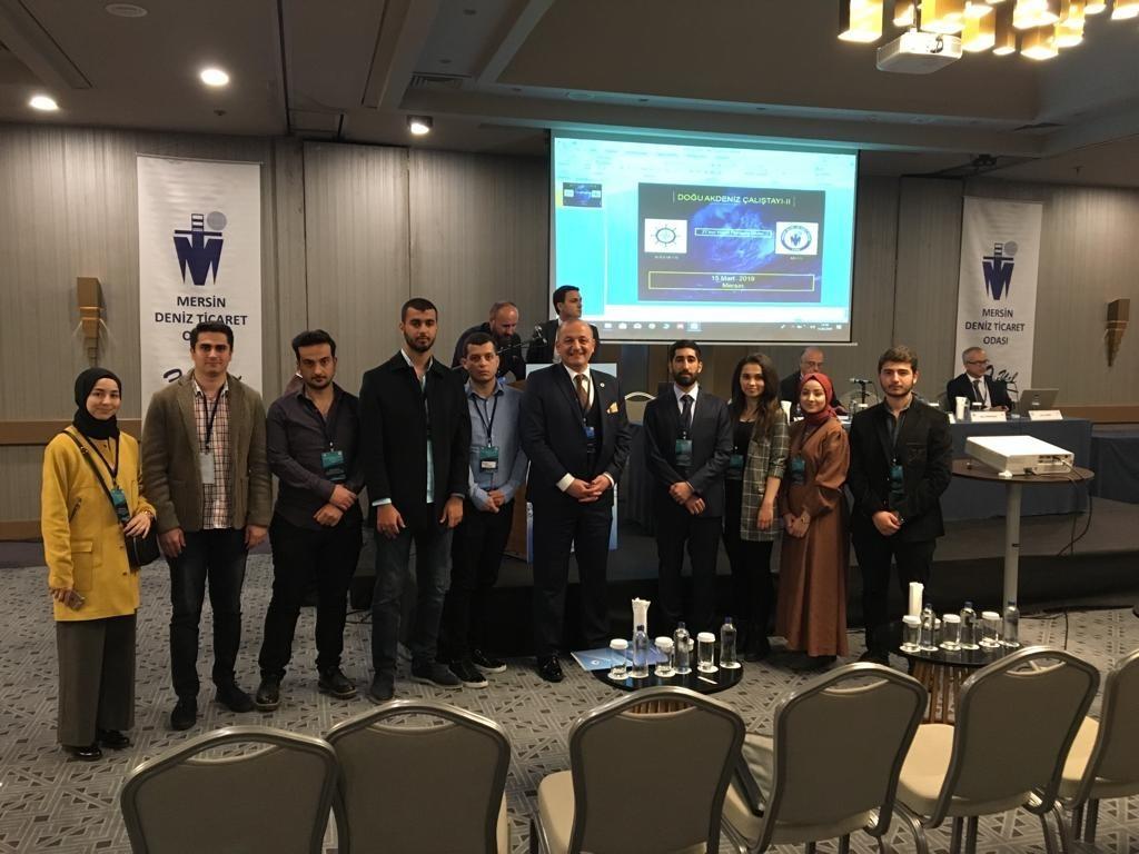 Öğrencilerimiz Doğu Akdeniz ve Türkiye II Çalıştayı'nda üniversitemizi temsil etti.