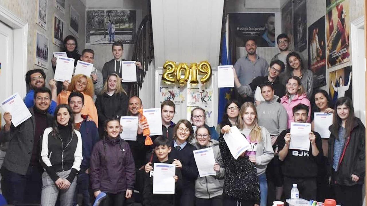 Çağ Gençlik Kulübü 8. Projeleri ile Yunanistan'da !
