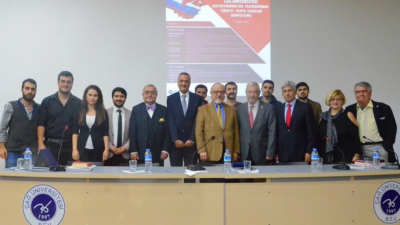 """Rus Devriminin 100.yılında Üniversitemizde, """"Rus Devriminin 100.yıldönümünde Türkiye-Rusya İlişkileri"""" konulu sempozyum düzenlendi."""