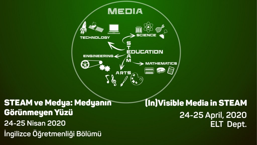 """(In)Visible Media in STEAM"" KONFERANSI"