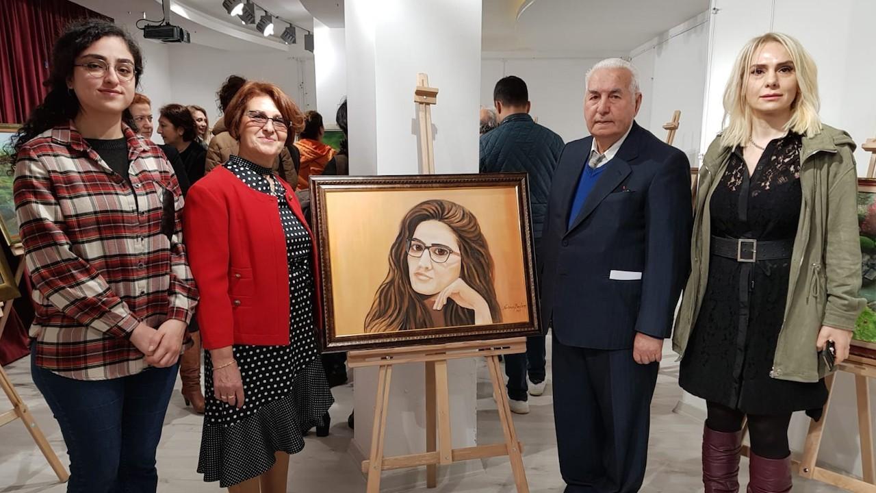 """FIRÇA'NIN DANSI"" RESİM SERGİSİ"