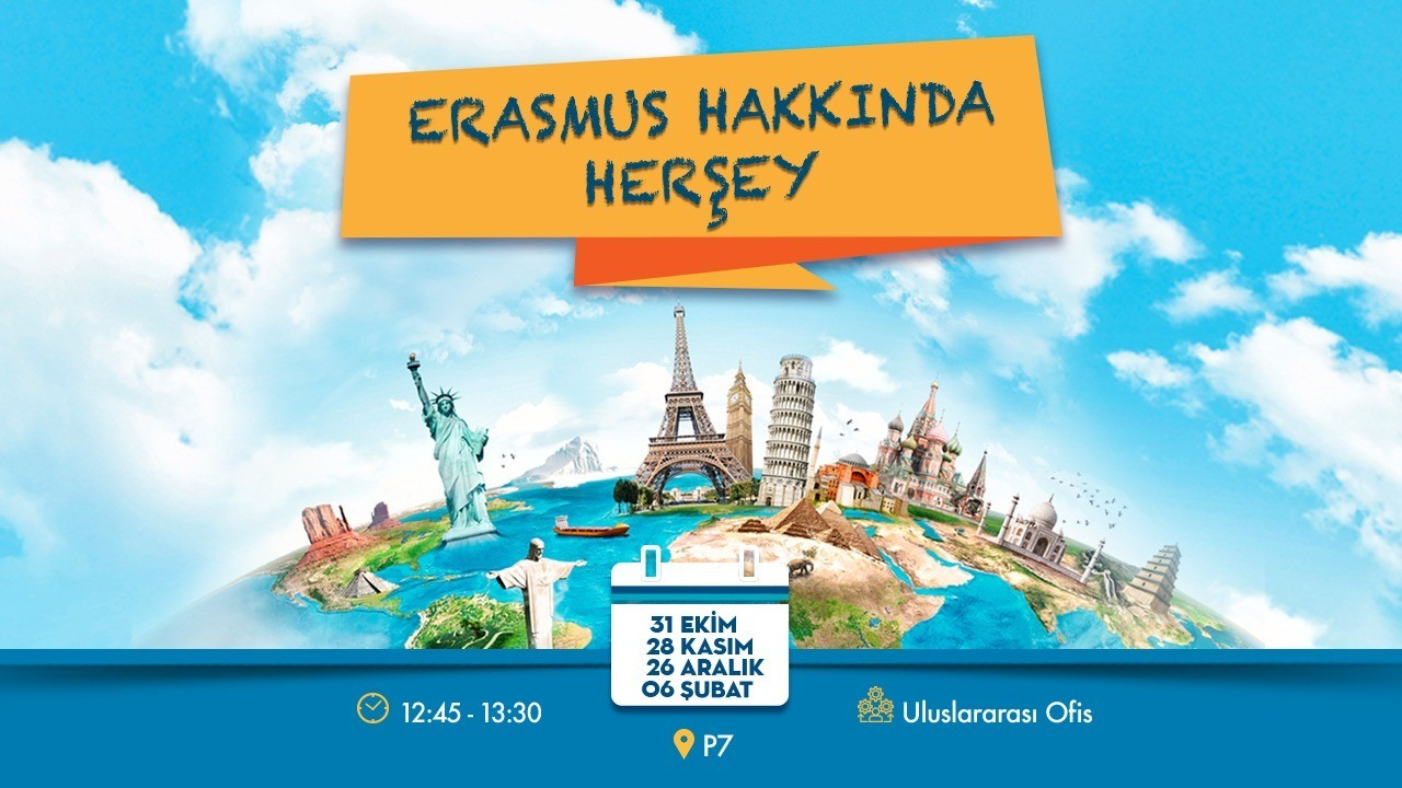 ERASMUS HAKKINDA HERŞEY
