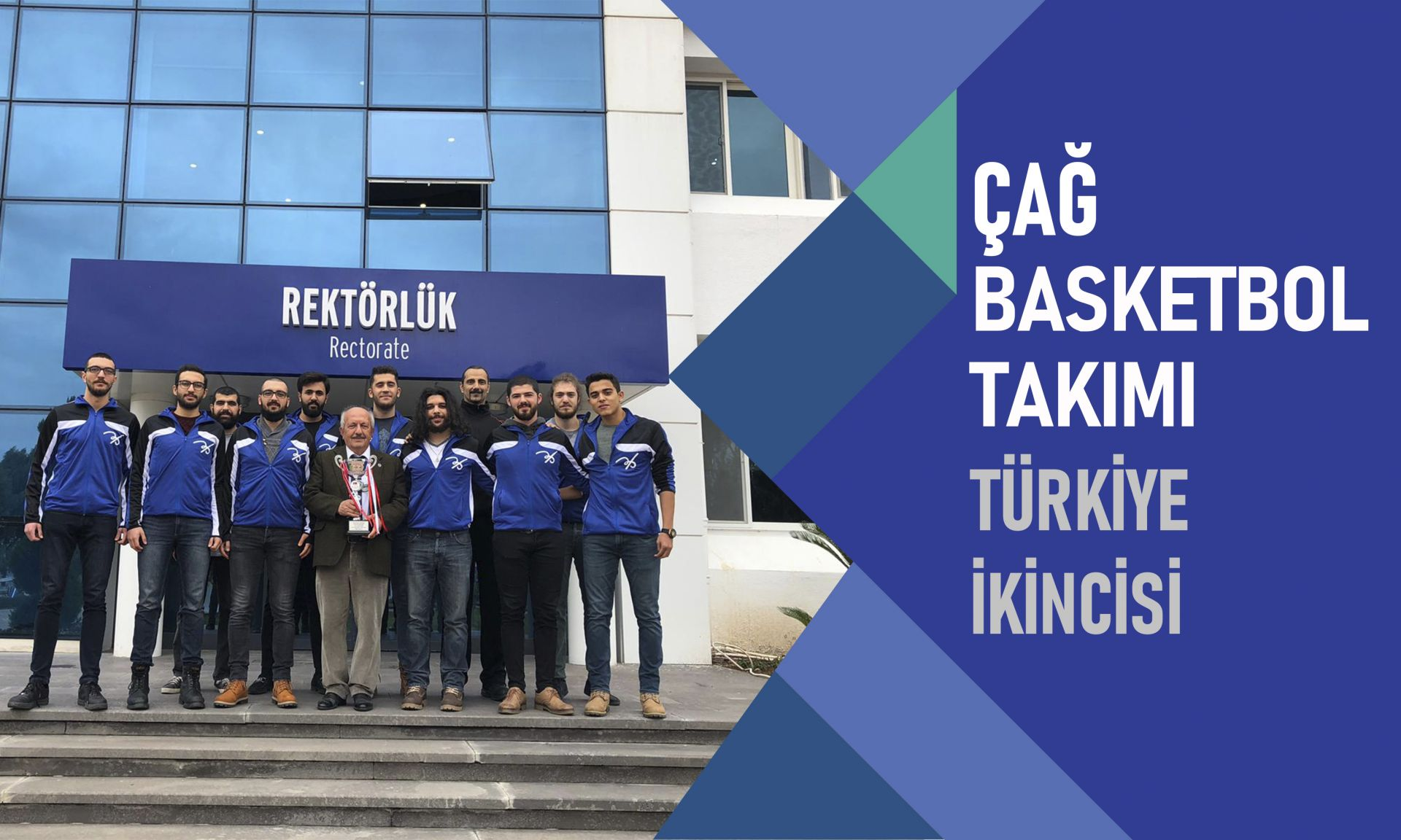 cag basketbol takimi turkiye ikincisi